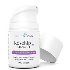 Dewy Skincare Rosehip + Vitamin C Skin Repair Moisturizer