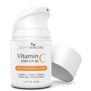 Dewy Skincare Vitamin C 20% + MSM Brightening Moisturizer 50ml