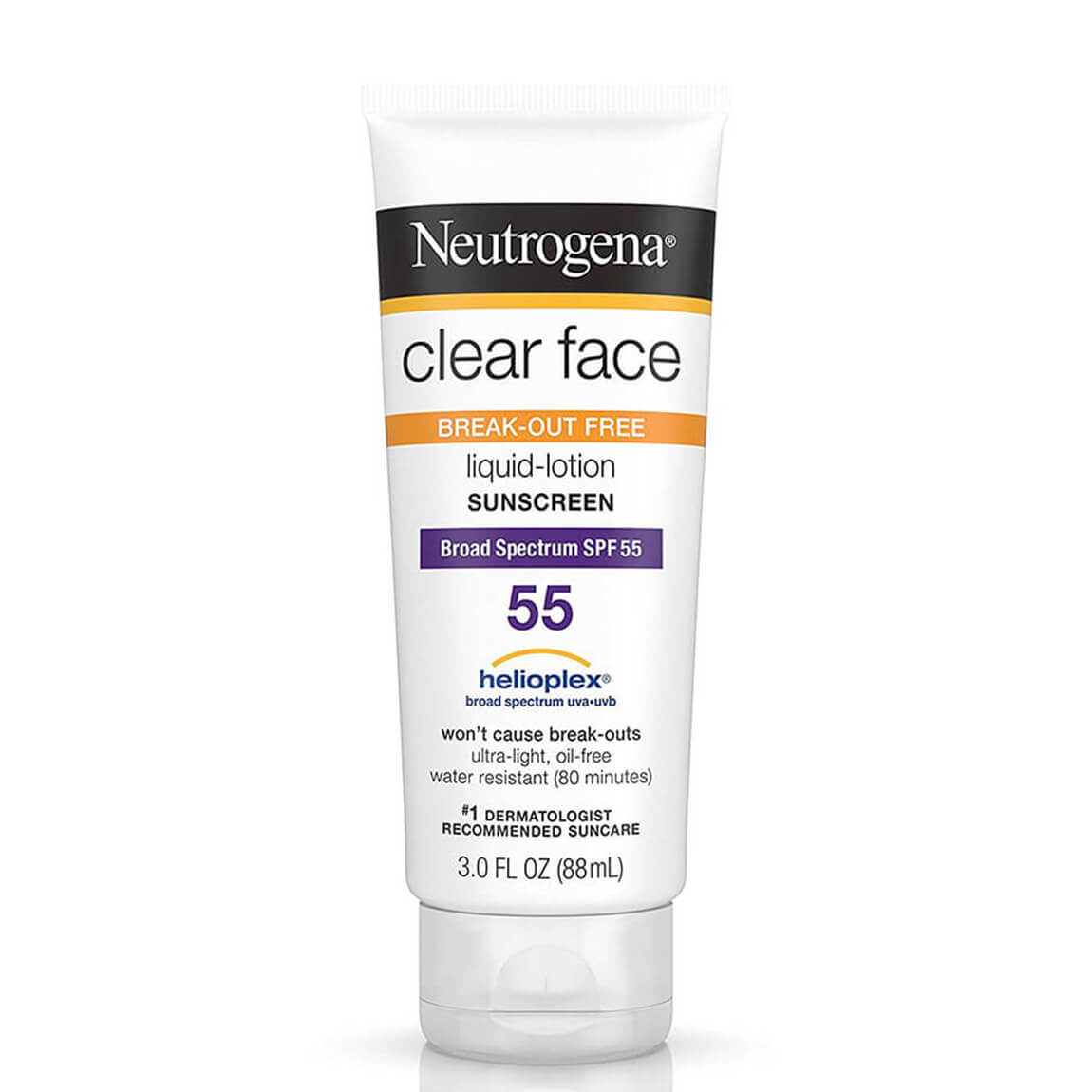Neutrogena Clear Face Sunscreen For Acne-Prone Skin