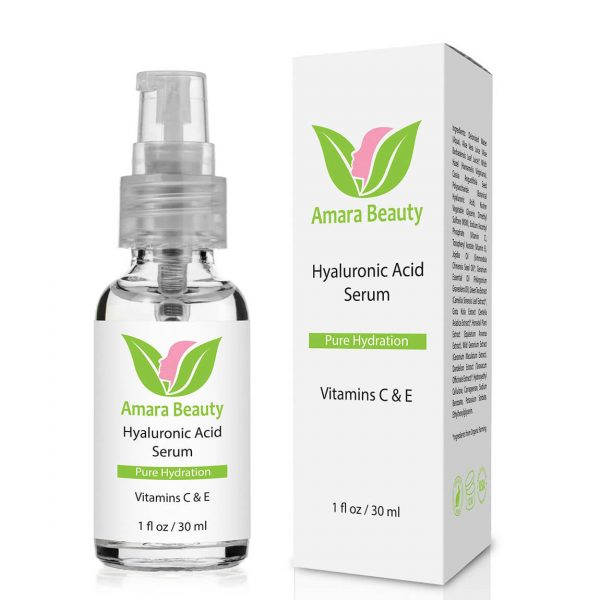 Amara Beauty Pure Hydration Hyaluronic Acid Serum