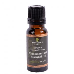 Cinnamon Leaf Essential Oil - 100% Pure Therapeutic Grade 15ml