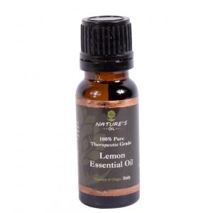 Lemon Essential Oil - 100% Pure Therapautic Grade 15ml