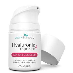 Dewy Skincare Hyaluronic Acid + Kojic Acid Even Skin Moisturizer