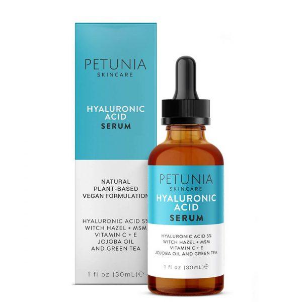 Petunia Skincare Hyaluronic Acid Facial Serum 30ml