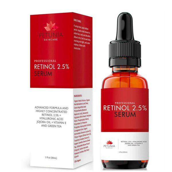 Professional Retinol 2.5% Face Serum 30ml