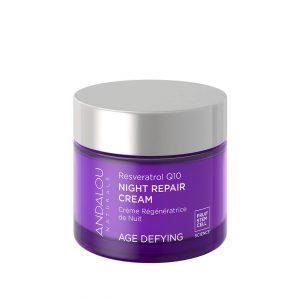 Andalou Naturals Resveratrol Q10 Age Defying Night Cream