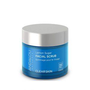 Andalou Naturals Lemon Sugar Clear Skin Facial Scrub