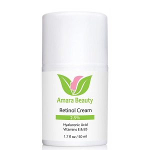 Amara Organics Retinol Face Cream with Vitamin E