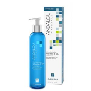 Andalou Naturals Clear Skin Cleansing Gel 178ml
