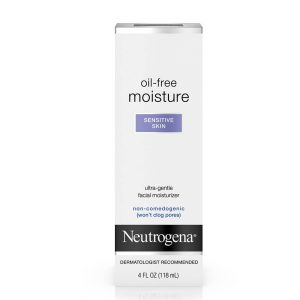 Neutrogena Oil-Free Moisturizer for Sensitive Skin