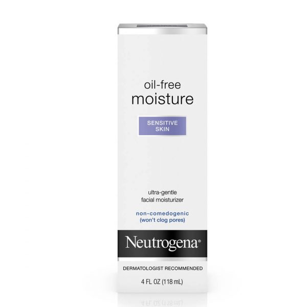 Neutrogena Oil-Free Moisturizer for Sensitive Skin