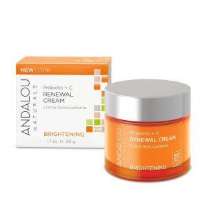Andalou Naturals Probiotic + C Renewal Cream 50g