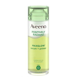 Aveeno Positively Radiant Max Glow Serum & Primer