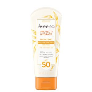 Aveeno Protect + Hydrate Face Sunscreen with SPF 50 3oz