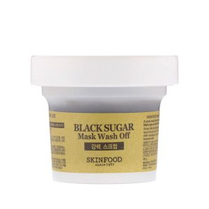 SkinFood Black Sugar Mask Wash Off 100g