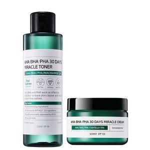 Some By Mi AHA BHA PHA 30 Days Miracle Toner + Cream