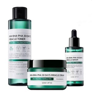 Some By Mi AHA BHA PHA 30 Days Miracle Toner + Serum + Cream