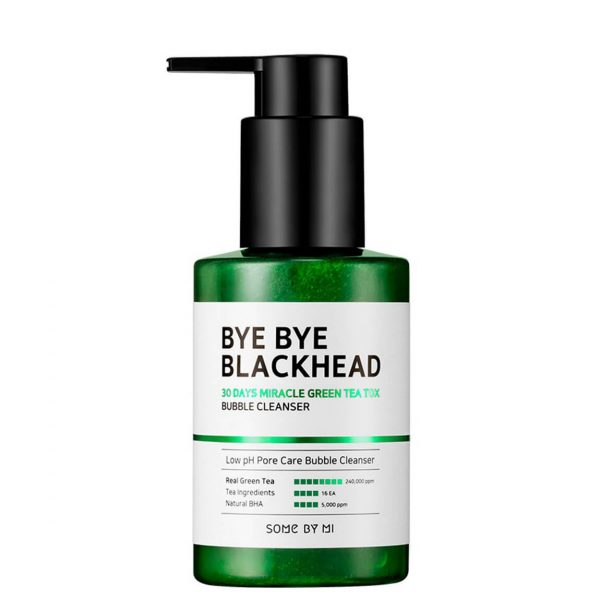 SOME BY MI Bye Bye Blackhead Green Tea Bubble Cleanser