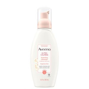 Aveeno Ultra-Calming Foaming Face Cleanser 180ml