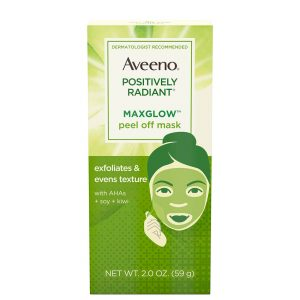 Aveeno Positively Radiant MaxGlow Peel Off Face Mask 59ml
