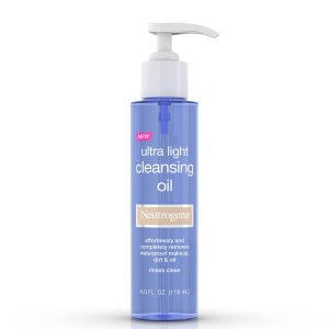 Neutrogena Ultra Light Face Cleansing Oil 118ml