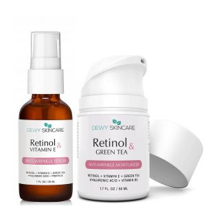Retinol 2.5% Anti-Aging Serum + Moisturizer