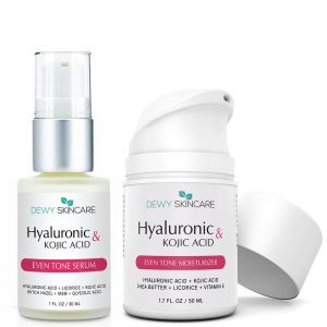 Hyaluronic Acid + Kojic Acid Serum & Moisturizer