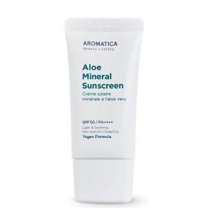 Aromatica Aloe Mineral Sunscreen SPF50 50ml