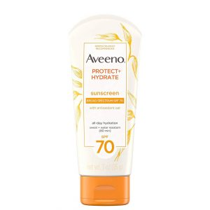 Aveeno Protect + Hydrate Face Sunscreen SPF 70