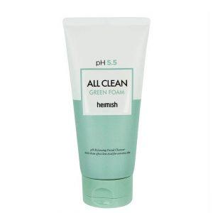 Heimish All Clean Green Foam pH 5.5 Cleanser