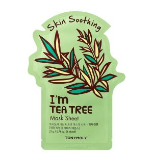 TONY MOLY I`m Real Tea Tree Soothing Sheet Mask