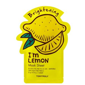 TONY MOLY I`m Real Lemon Brightening Sheet Mask