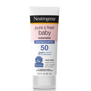Neutrogena Pure & Free Baby Sunscreen SPF50