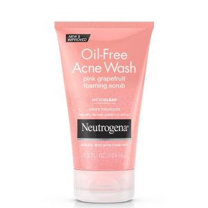 Neutrogena Oil-Free Pink Grapefruit Foaming Scrub 124ml