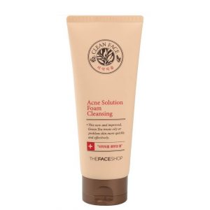 The Face Shop Acne Solution Foam Cleanser 150ml