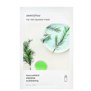 Innisfree My Real Squeeze Sheet Mask - Tea Tree