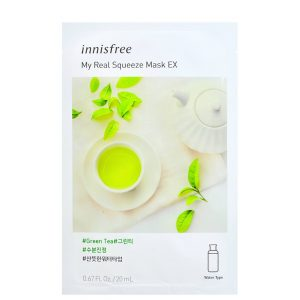 Innisfree My Real Squeeze Sheet Mask - Green Tea