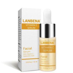 Lanbena Vitamin C Brightening Serum with Hyaluronic Acid