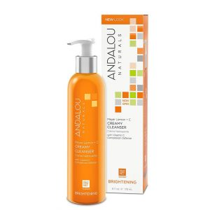 Andalou Naturals Meyer Lemon + C Creamy Cleanser 178ml