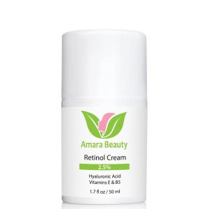 Amara Beauty Retinol Face Cream with Hyaluronic Acid