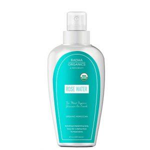Shop Radha Beauty Organic Pure Rose Water Toner 120ml