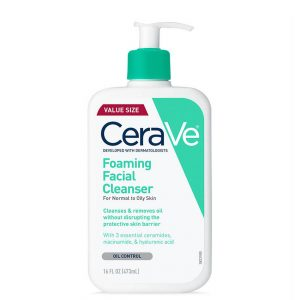 Cerave Foaming Face Cleanser for Normal to Oily Skin 16oz