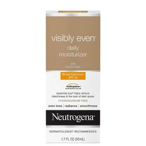 Neutrogena Visibly Even Daily Moisturizer with Sunscreen SPF30 50ml