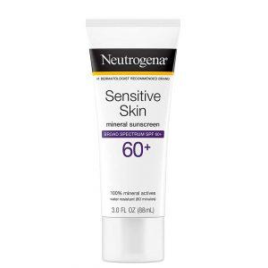 Neutrogena Sensitive Skin Sunscreen Lotion SPF60+ 88ml