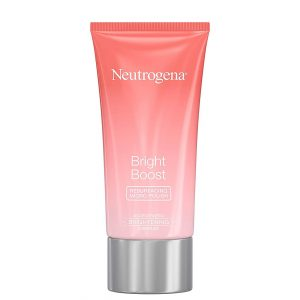 Formulated with naturally-derived skin exfoliators, Glycolic Acid and Mandelic Acid, Neutrogena Bright Boost Resurfacing Micro Face Polish smooths and removes skin aging dullness. The daily skin resurfacing face cleanser effectively cleanses away dirt, remove dead skin cells through exfoliation to awaken skin and restore brightness and kick-start tired, dull skin.