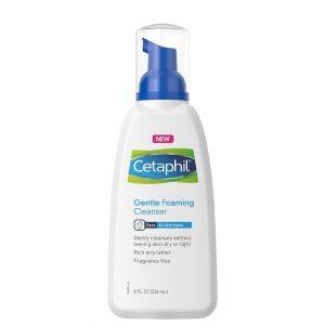 Cetaphil Gentle Foaming Face Cleanser 237ml