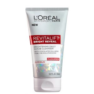 L'Oreal Bright Reveal Brightening Daily Scrub Cleanser 150ml