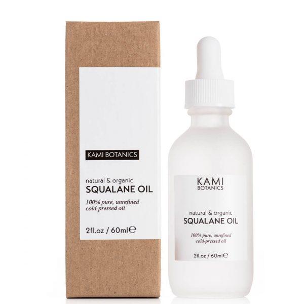Kami Botanics Pure Plant-Derived Squalane Oil 60ml