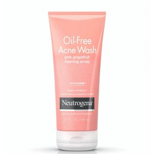 Neutrogena Oil-Free Acne Wash Pink Grapefruit Foaming Scrub 198ml