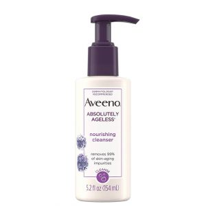 Aveeno Absolutely Ageless Nourishing Face Cleanser 154ml